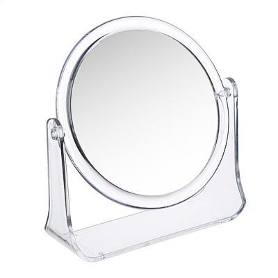 Зеркало настольное круглое ЮниLook, d.14 см, прозрачный