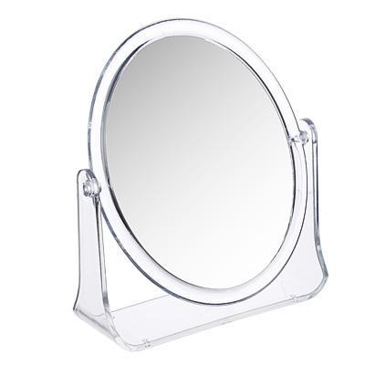 Зеркало настольное овальное ЮниLook, 15х18 см, прозрачный