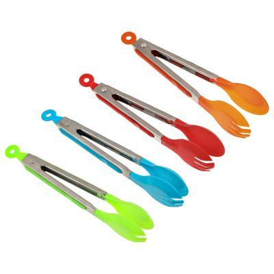 Щипцы-ложка кухонные пластик/нержавеющая сталь 25 см