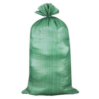 Мешок для строительного мусора полипропиленовый, зеленый, 95х55см