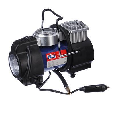 NEW GALAXY Optima Компрессор АС6220, 180вт, 50л/мин, c LED фонарем, в сумке, Omicron