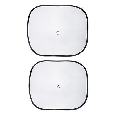 NG Комплект шторок 2шт. на боковое заднее стекло на присоске в центре 44х36см, черные