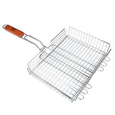 Решетка-гриль хромированная 58х(33х25х5) см, GRILLBOOM