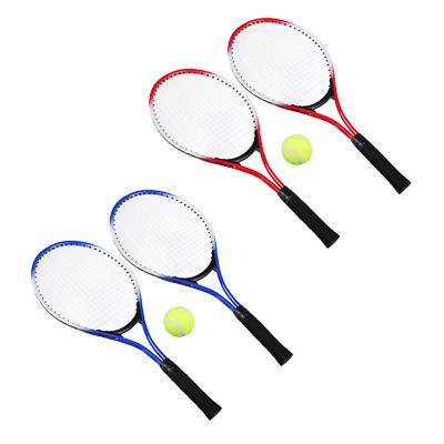 Набор для большого тенниса: 2 ракетки, мяч, в чехле, металл, пластик, SILAPRO