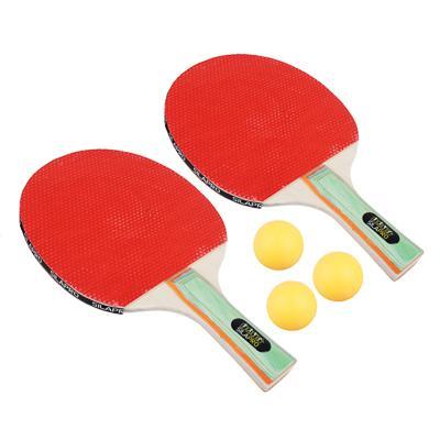 Набор для настольного тенниса в чехле: ракетка 2 шт, мяч 3 шт, дерево, SILAPRO, 306