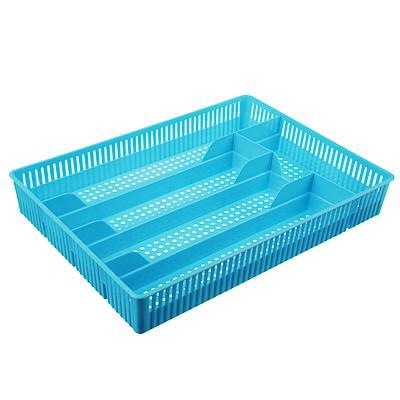 Лоток для столовых приборов, 30х22х4,5см, пластик, Р2030