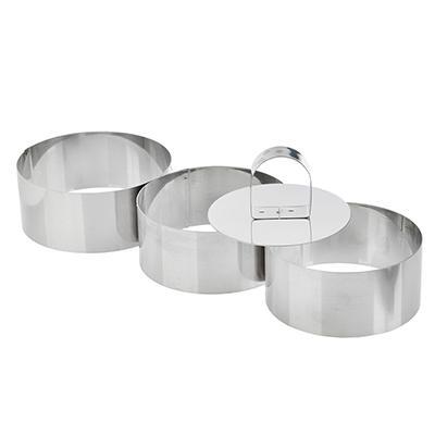 Набор форм для приготовления салатов\десертов 4предмета, 9х4 см, VETTA