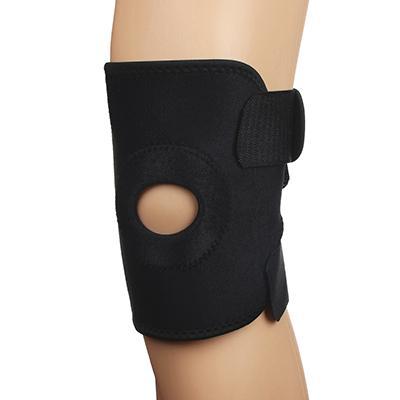 Суппорт на колено, на липучке, с фиксирующими вставками, нейлон, неопрен, пластик, 50х18,8 см, SILAP