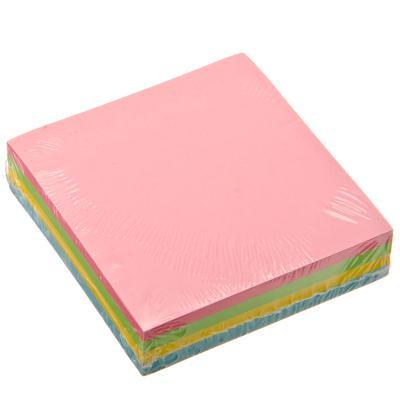 Блок с клеевым краем 76x76 мм 200 листов, 4-цветный