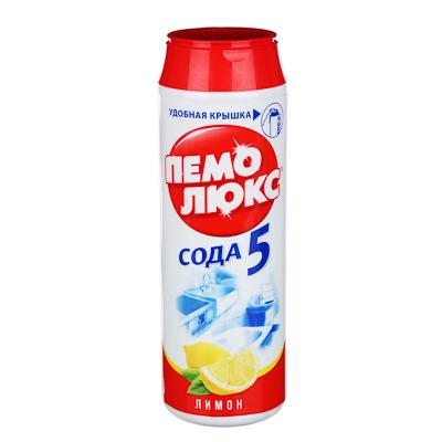 Порошок чистящий ПЕМОЛЮКС Лимон/Морской бриз п/б 480г 4996178/2079826/12349682/2415944