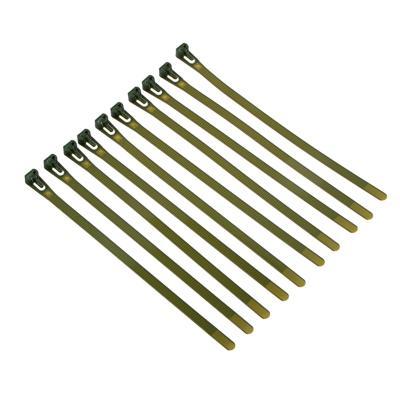 Подвязка для растений, 10 шт, нейлон, 0,7x20 см, 24х7х2, INBLOOM