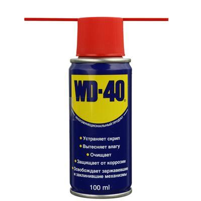 Смазка проникающая WD-40 100мл, аэрозоль