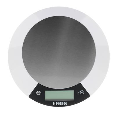 Весы кухонные электронные до 5 кг LEBEN 475-148