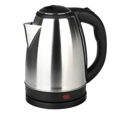 Чайник электрический 1,8 л, 1500 Вт, нержавейка/пластик 475-154