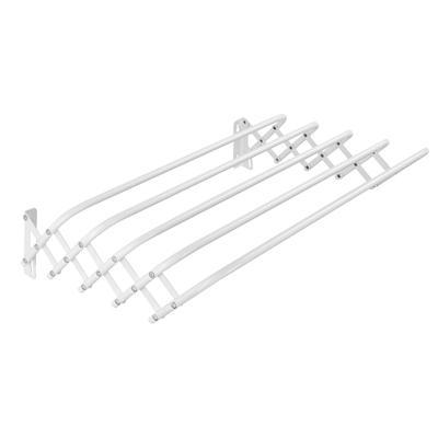 VETTA Сушилка для белья настенная раздвижная, окрашенная сталь, 80см