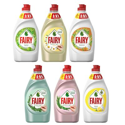 Средство для мытья посуды FAIRY Нежные руки Ромашка и витамин Е,п/б 450мл,арт.81686349