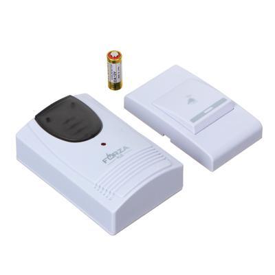 Звонок беспроводной FORZA 32 мелодии, 3.0VDC(2x1.5VAA), ZV001