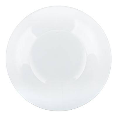 Тарелка стеклянная мелкая d. 19,6см