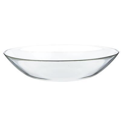 Тарелка стеклянная глубокая d. 20,8см