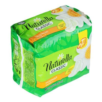 Прокладки гигиенические NATURELLA Classic Camomile Normal Single пэт 9шт