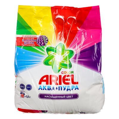 Стиральный порошок ARIEL Автомат Color пэт 1.5кг