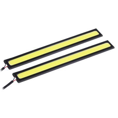 Дневные ходовые огни NEW GALAXY, LED 20шт, метал. корп., 142мм, 12V, белый, 2шт.