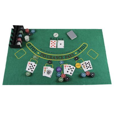 Набор для покера в жестяной коробке, 24х11,5х11,5см, металл, пластик
