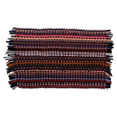 VETTA Коврик плетеный эконом, полиэстер, 35х55см, разноцветный