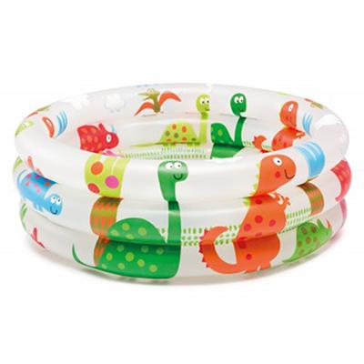 Надувной бассейн для детей INTEX 57106 с динозаврами d. 61х22см, от с 1 до 3 лет
