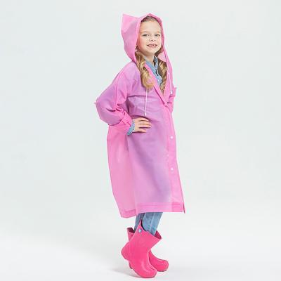 Детский дождевик-плащ, ЭВА, 100 мкр., 83х54 см, 5 цветов, INBLOOM