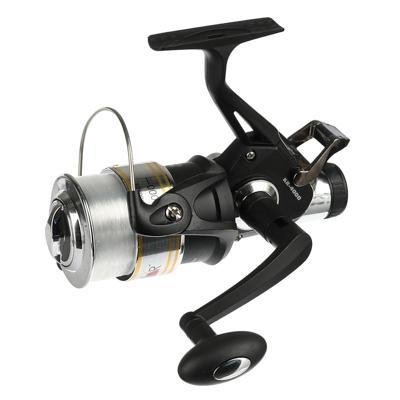 Катушка безынерционная AZOR FISHING KR 4000, байтраннер, c леской 0,35мм