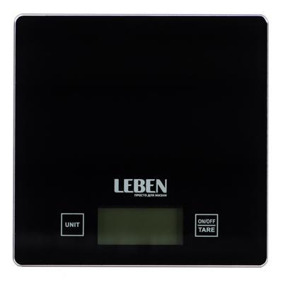 Весы кухонные электронные до 5 кг LEBEN 268-045