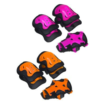Набор для защиты: колени, локти, запястья, однотонный, размер М, пластик, SILAPRO