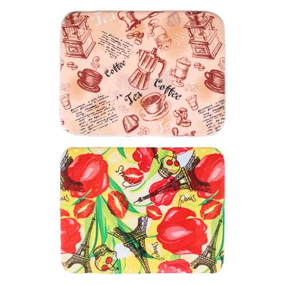 VETTA Коврик для сушки посуды микрофибра, 0,9см, 50x40см, 2 цвета