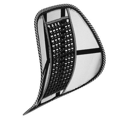 NG Подушка массажная для поддержки спины и поясницы, с деревянными вставками, черная
