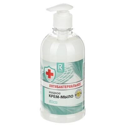 Крем-мыло жидкое AURA антибактериальное, 500мл КК/8 07378/2629