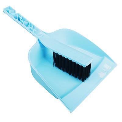 Набор для уборки: совок, щетка, пластик, 29х19,5х6 см, 2 цвета, VETTA