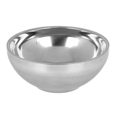 Чашка глубокая, походная ЧИНГИСХАН двухслойная, 280мл, 12х5см металл