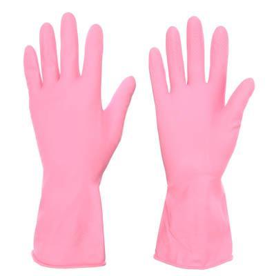 Перчатки резиновые, прочные, с запахом лаванды, M, VETTA