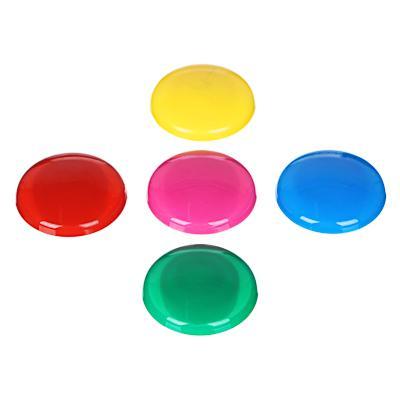 Набор магнитов d. 3 см, 5 штук, 5 цветов