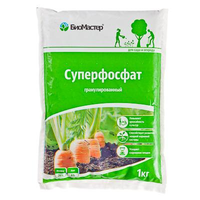 Суперфосфат, 1 кг, БиоМастер