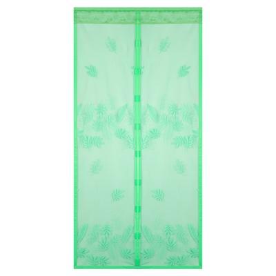 VETTA Занавеска магнитная антимоскитная на дверь 100x210см, зелёная