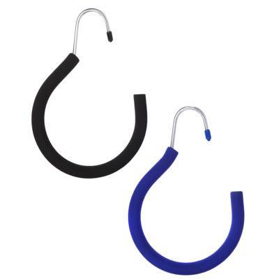 VETTA Вешалка металлическая кольцо для ремней и аксессуаров с покрытием из вспененного ПВХ