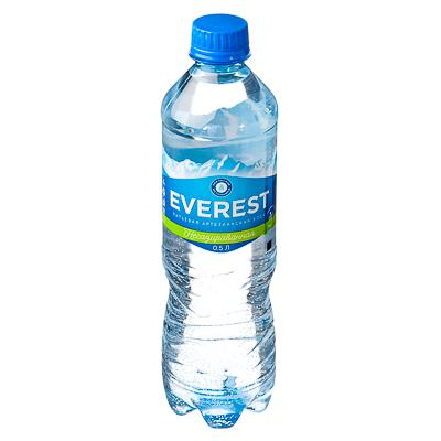 Вода питьевая Эверест, ПЭТ, 0,5л