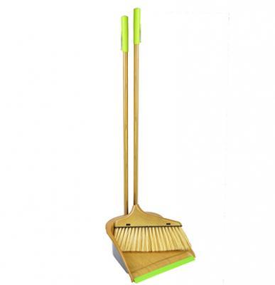 Набор для уборки: щётка с ручкой, совок, пластик, VETTA