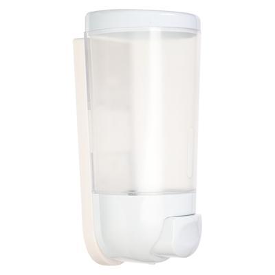 Дозатор для жидкого мыла настенный Sonwelle, 400мл, белый
