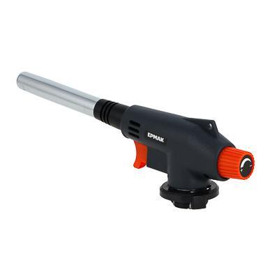 Горелка газовая ЧИНГИСХАН с пьезорозжигом, цанговый захват, узкое сопло; 16,5х4х6,2см