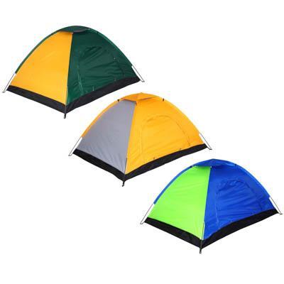 Палатка 2-местная ЧИНГИСХАН Стандарт, 195х145х110см, нейлон 170T, дно оксфорд 150D