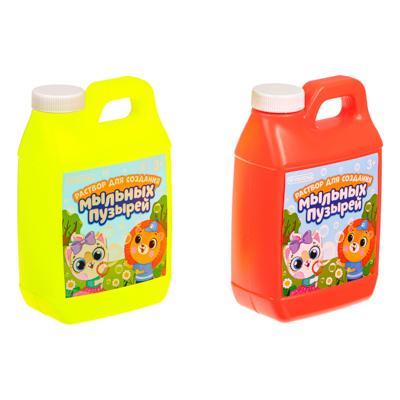 Раствор для создания мыльных пузырей 500мл, мыльный раствор, PVC, 5х16х9см