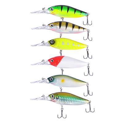 Воблер AZOR FISHING Дип Шэд Флэт, SF, 11, 9 гр, 10, 8 см, глубина 0, 5-1, 5 м, 6 цветов